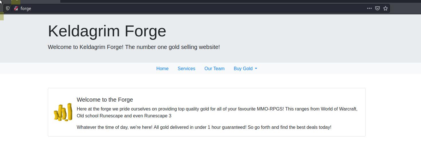 Welcome to Keldagrim Forge! The number one gold selling website!